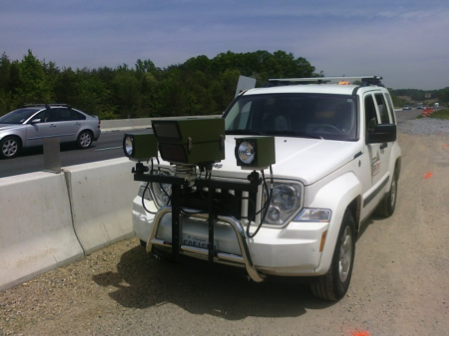 Maryland automated enforcement vehicle