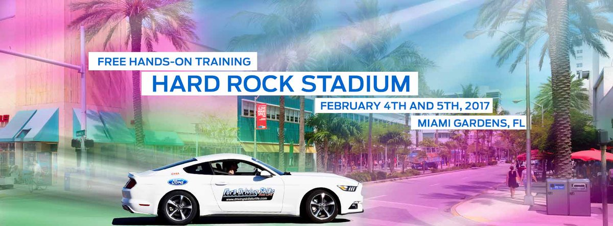 Ford DSFL in Miami Feb 4-5