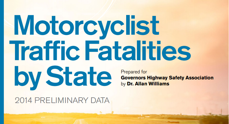 Motorcyclist Traffic Fatalities by State: 2014 Preliminary Data