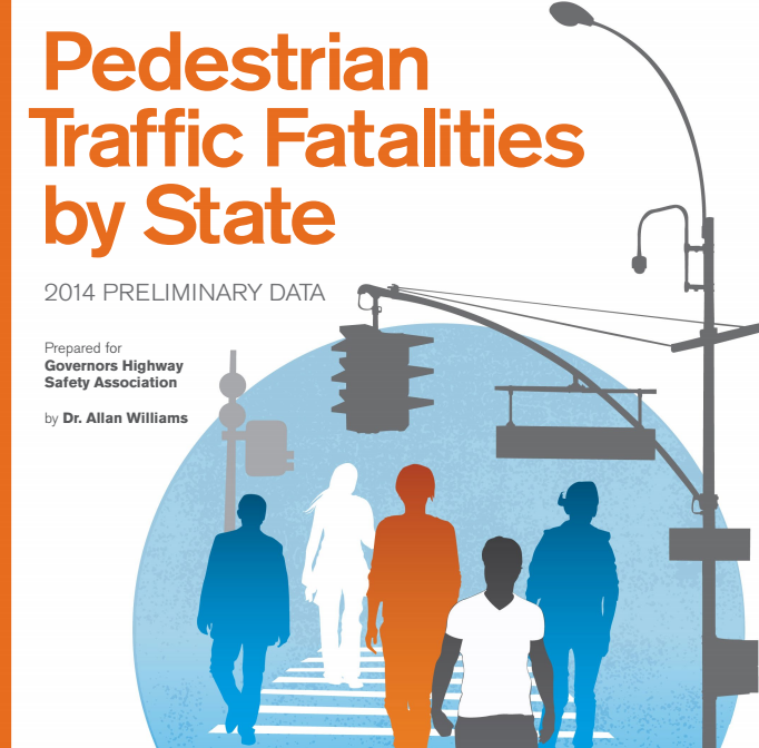 Pedestrian Traffic Fatalities by State: 2014 Preliminary Data