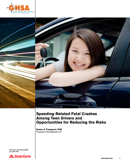 Speeding-Related Fatal Crashes Among Teen Drivers and Opportunities for Reducing the Risks