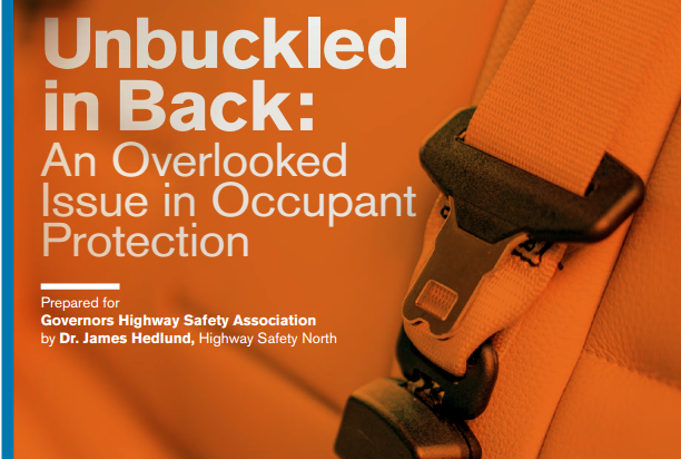 Unbuckled in Back: An Overlooked Issue in Highway Safety