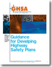 Guidance for Developing Highway Safety Plans cover