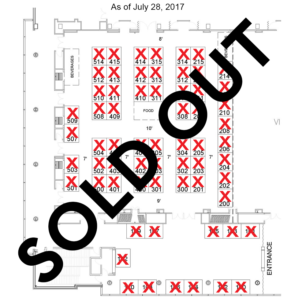 2017 annual meeting exhibit hall floor plan ghsa exhibit hall sold out