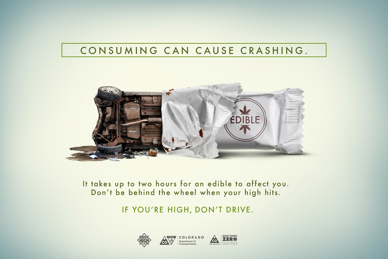 Colorado Quot Drive High Get A Dui Quot Drugged Driving Campaign