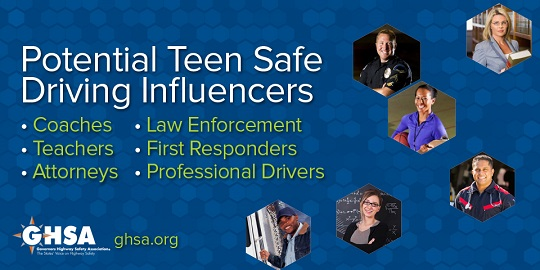 Potential Teen Safe Driving Influences
