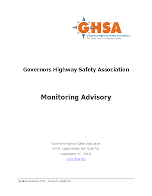 Monitoring Advisory cover
