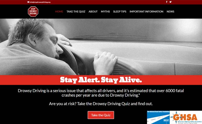 StopDrowsyDriving.org