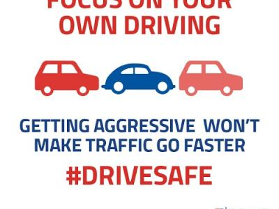 Drive Safe Aggressive Driving Florida Infographic