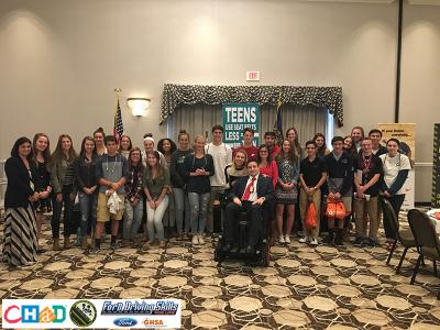 NH Teens with Event Speakers