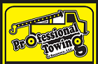 Professional Towing and Recovery Logo